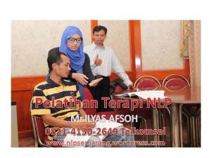 nlp semarang TRAINING Mr ilyas afsoh 0821-4150-2649 TELKOMSEL